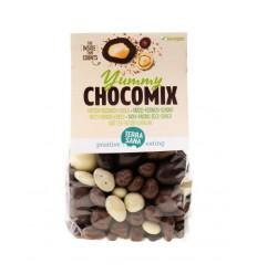 Terrasana Yummy chocomix noten rozijnen choco 200 gram | € 3.68 | Superfoodstore.nl