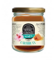 Royal Green Caribbean honey 250 gram | € 4.17 | Superfoodstore.nl