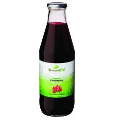 Bountiful Cranberry sap gezoet 750 ml | Superfoodstore.nl