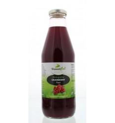 Bountiful Cranberrysap bio 750 ml | Superfoodstore.nl