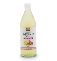 Mattisson Aquakefir fig & lemon 500 ml | Superfoodstore.nl