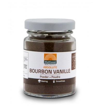 Mattisson Bourbon vanille poeder 30 gram
