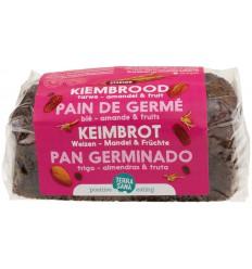 Brood Terrasana Gekiemd brood zuidvruchten amandel 400 gram