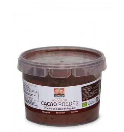 Mattisson Bio cacao poeder 100 gram | € 2.60 | Superfoodstore.nl