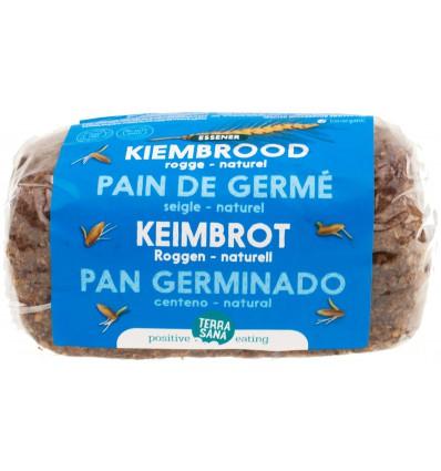 Terrasana Roggebrood gekiemd 400 gram | € 2.84 | Superfoodstore.nl