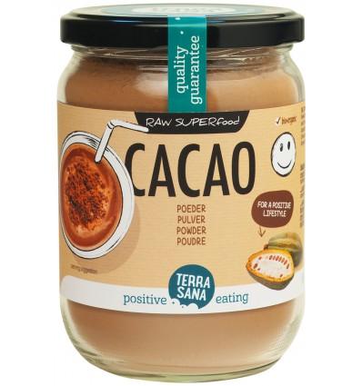 Terrasana Raw cacao antioxidant poeder in glas 160 gram |