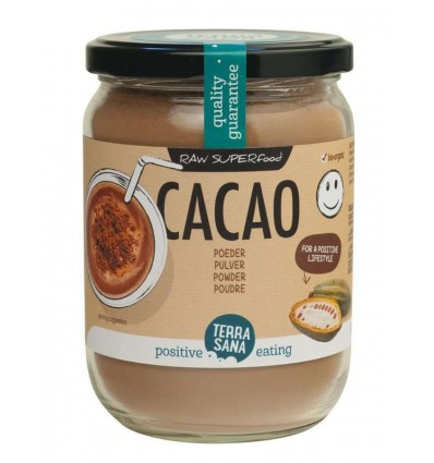 Cacao Terrasana Raw antioxidant poeder in glas 160 gram kopen