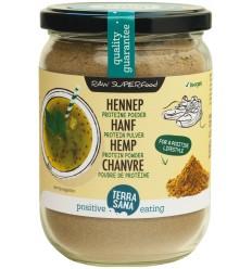 Terrasana Raw hennep protein poeder in glas 200 gram | € 5.36 | Superfoodstore.nl