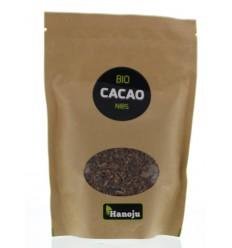 Hanoju Bio cacao nibs 250 gram | Superfoodstore.nl