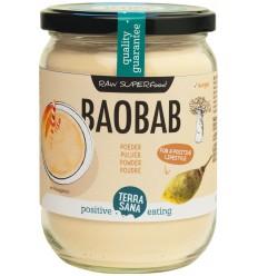 Terrasana Raw baobab poeder in glas 190 gram | € 8.51 | Superfoodstore.nl