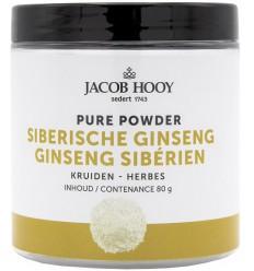 Jacob Hooy Siberische ginseng 80 gram | Superfoodstore.nl