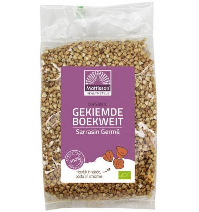 Ontbijtgranen Mattisson Organic boekweit gekiemd 200 gram kopen