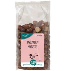Terrasana RAW Hazelnoten bruin gepeld 225 gram | € 5.18 | Superfoodstore.nl