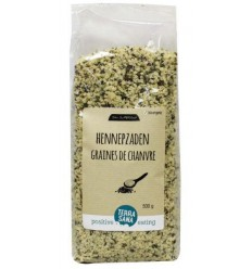 Terrasana RAW Hennepzaad gepeld 500 gram | € 8.96 | Superfoodstore.nl