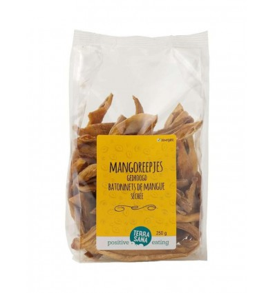 Terrasana Mangoreepjes 250 gram | Superfoodstore.nl