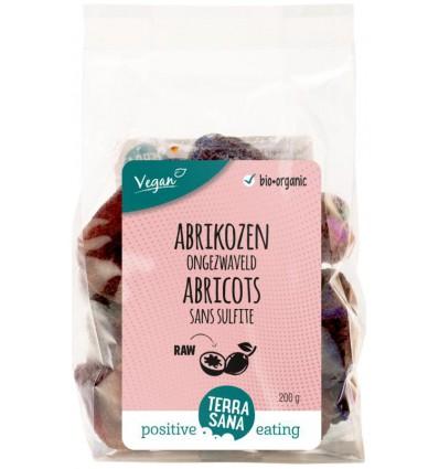 Gedroogde vruchten Terrasana RAW Abrikozen ongezwaveld 200 gram kopen