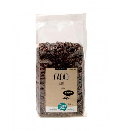Terrasana RAW Cacao nibs 250 gram | Superfoodstore.nl
