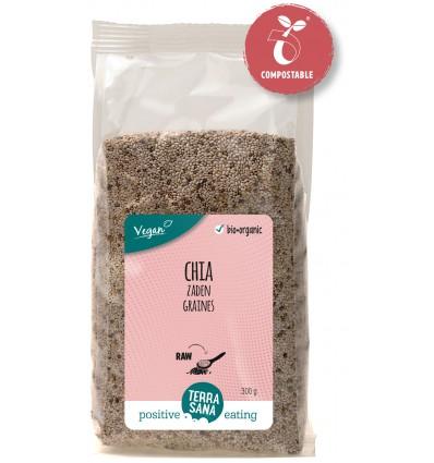 Terrasana RAW Chia zaad wit 300 gram | Superfoodstore.nl