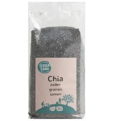 Terrasana RAW Chia zaad zwart 600 gram | Superfoodstore.nl