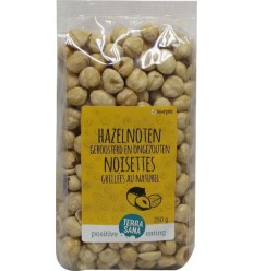 Terrasana Hazelnoten geroosterd 250 gram | € 5.81 | Superfoodstore.nl