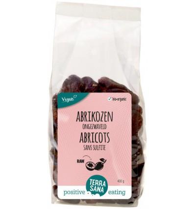 Terrasana RAW Abrikozen ongezwaveld 400 gram kopen