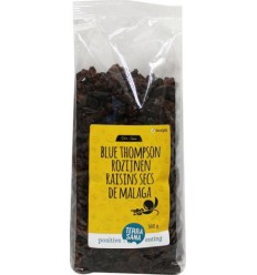 Terrasana RAW Rozijnen blue thompson 500 gram | € 4.00 | Superfoodstore.nl