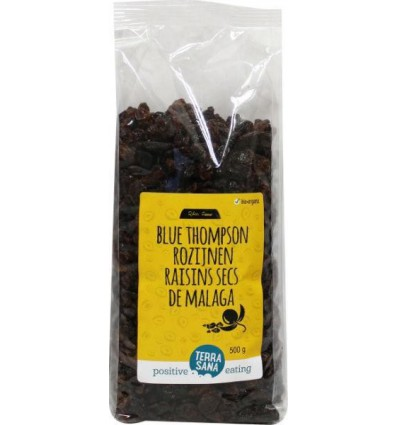 Rozijnen en krenten Terrasana RAW Rozijnen blue thompson 500 gram kopen