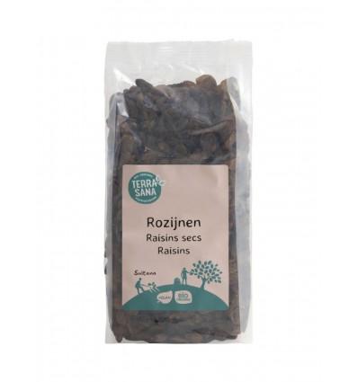 Terrasana RAW Rozijnen sultana's 500 gram