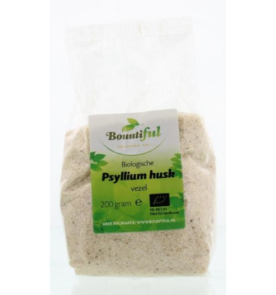 Bountiful Psyllium husk vezel/vlozaad 200 gram |