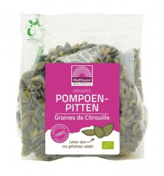 Mattisson Pompoenpitten bio 200 gram | € 2.73 | Superfoodstore.nl