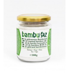Bambu Salz Bamboezout fijn 2x gebrand 300 gram  