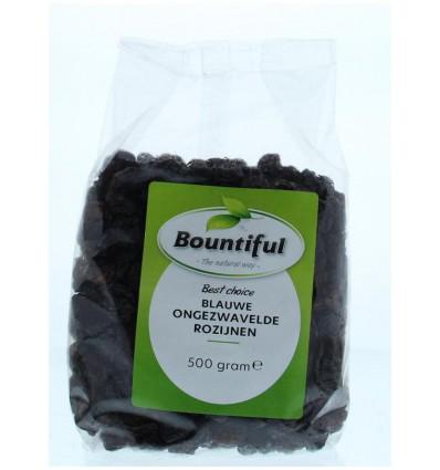 Bountiful Rozijnen blauw ongezwaveld 500 gram kopen