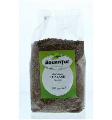 Bountiful Lijnzaad gebroken 500 gram | Superfoodstore.nl