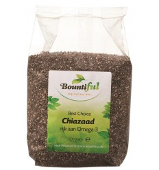 Bountiful Chia zaad 500 gram | € 4.46 | Superfoodstore.nl