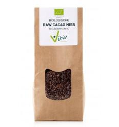 Vitiv Cacao nibs 200 gram | Superfoodstore.nl