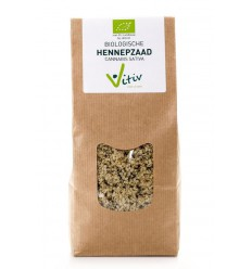 Vitiv Hennepzaad 250 gram | Superfoodstore.nl