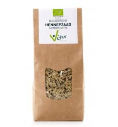 Vitiv Hennepzaad 500 gram | € 11.35 | Superfoodstore.nl