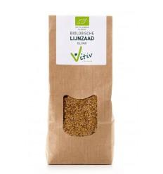 Vitiv Lijnzaad blond 500 gram | Superfoodstore.nl