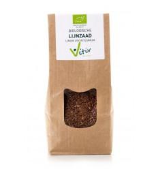 Vitiv Lijnzaad heel 500 gram | Superfoodstore.nl