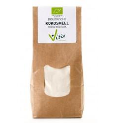 Kokosmeel Vitiv Kokosmeel 500 gram kopen