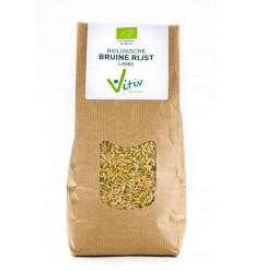 Vitiv Rijst bruin lang 1 kg | Superfoodstore.nl