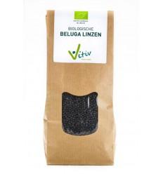 Vitiv Beluga linzen 500 gram | Superfoodstore.nl
