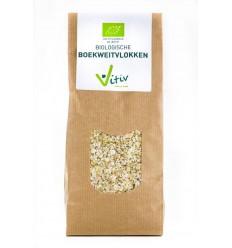 Vitiv Boekweitvlokken 500 gram   Superfoodstore.nl