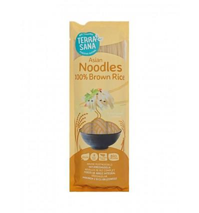 Terrasana Noedels bruine rijst 250 gram | € 2.66 | Superfoodstore.nl
