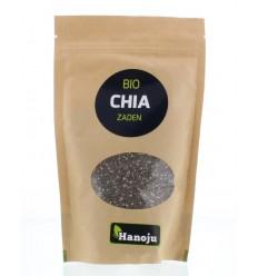 Hanoju Bio chia zaad paper bag 250 gram | Superfoodstore.nl