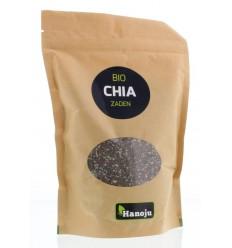 Hanoju Bio chia zaad paper bag 500 gram | Superfoodstore.nl
