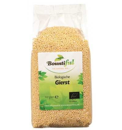 Bountiful Gierst bio 500 gram | Superfoodstore.nl