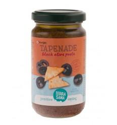Terrasana Tapenade zwarte olijven 180 gram | Superfoodstore.nl