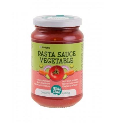 Terrasana Tomatensaus groente 340 gram | € 2.33 | Superfoodstore.nl