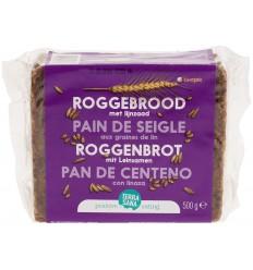 Roggebrood Terrasana Roggebrood lijnzaad 500 gram kopen